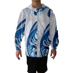 Delicate Tree Leaf Hooded Wind Breaker (kids) by Jojostore