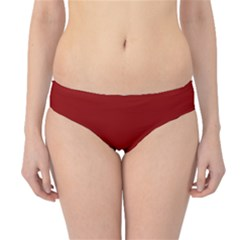 Plain Blue Red Hipster Bikini Bottoms by Jojostore