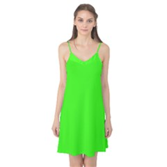 Plain Green Camis Nightgown by Jojostore