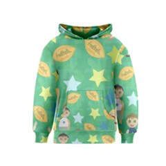 Football Kids Children Pattern Kids  Pullover Hoodie
