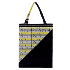 Note Abstract Paintwork Classic Tote Bag by Nexatart