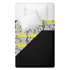 Note Abstract Paintwork Duvet Cover Double Side (single Size) by Nexatart