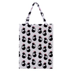 Cat Seamless Animals Pattern Classic Tote Bag by Nexatart