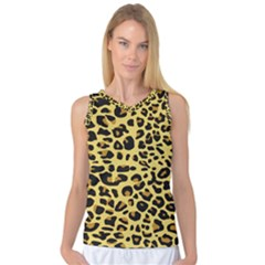 A Jaguar Fur Pattern Women s Basketball Tank Top