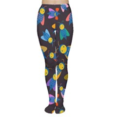 Bees Animal Insect Pattern Women s Tights