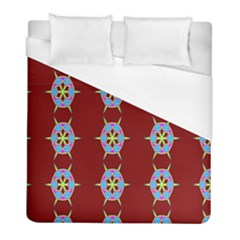 Geometric Seamless Pattern Digital Computer Graphic Wallpaper Duvet Cover (full/ Double Size)