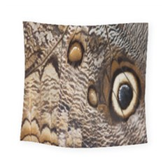 Butterfly Wing Detail Square Tapestry (small) by Nexatart