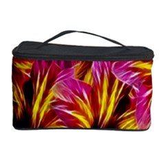 Floral Pattern Background Seamless Cosmetic Storage Case by Nexatart