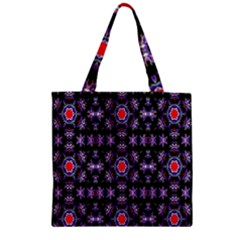 Digital Computer Graphic Seamless Wallpaper Zipper Grocery Tote Bag by Nexatart