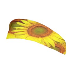 Sunflowers Background Wallpaper Pattern Stretchable Headband