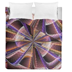 Background Image With Wheel Of Fortune Duvet Cover Double Side (queen Size) by Nexatart