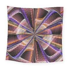 Background Image With Wheel Of Fortune Square Tapestry (large) by Nexatart