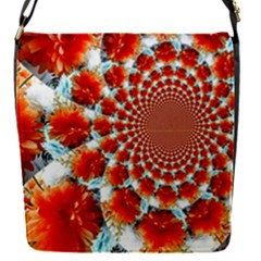 Stylish Background With Flowers Flap Covers (s)  by Nexatart