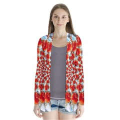 Stylish Background With Flowers Cardigans by Nexatart