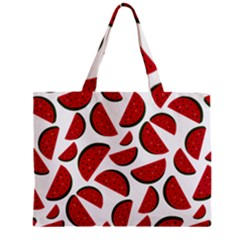 Fruit Watermelon Seamless Pattern Mini Tote Bag by Nexatart
