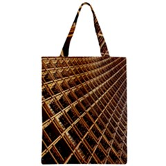 Construction Site Rusty Frames Making A Construction Site Abstract Zipper Classic Tote Bag