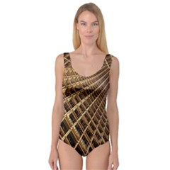 Construction Site Rusty Frames Making A Construction Site Abstract Princess Tank Leotard  by Nexatart