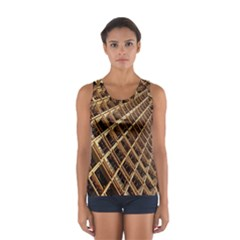 Construction Site Rusty Frames Making A Construction Site Abstract Women s Sport Tank Top  by Nexatart