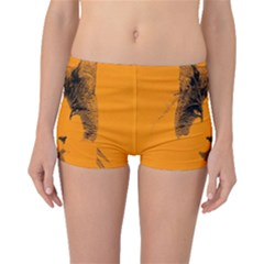 Cat Graphic Art Boyleg Bikini Bottoms