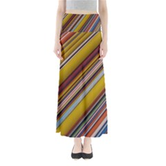 Colourful Lines Maxi Skirts