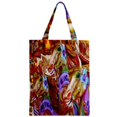 3 Carousel Ride Horses Zipper Classic Tote Bag by Nexatart