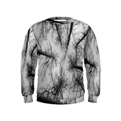 Trees Without Leaves Kids  Sweatshirt