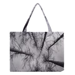 Trees Without Leaves Medium Tote Bag by Nexatart