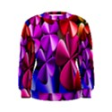 Colorful Flower Floral Rainbow Women s Sweatshirt View1