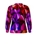 Colorful Flower Floral Rainbow Women s Sweatshirt View2