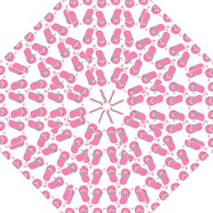 Flip Flops Flower Star Sakura Pink Straight Umbrellas by Mariart