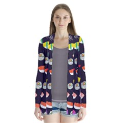 Japanese Food Sushi Fish Cardigans by Mariart