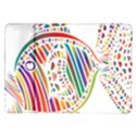 Colorful Fish Animals Rainbow Samsung Galaxy Tab 10.1  P7500 Flip Case View1