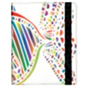 Colorful Fish Animals Rainbow Samsung Galaxy Tab 10.1  P7500 Flip Case View3