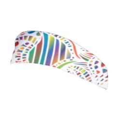 Colorful Fish Animals Rainbow Stretchable Headband by Mariart
