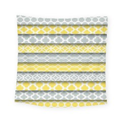 Paper Yellow Grey Digital Square Tapestry (small) by Mariart