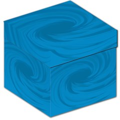 Whirlpool Hole Wave Blue Waves Sea Storage Stool 12   by Mariart