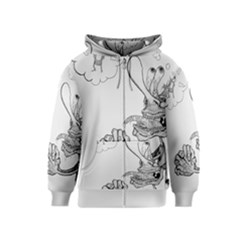 Bwemprendedor Kids  Zipper Hoodie by PosterPortraitsArt