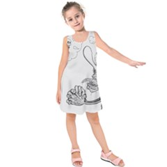 Bwemprendedor Kids  Sleeveless Dress by PosterPortraitsArt