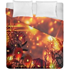 Summer Evening Duvet Cover Double Side (california King Size)