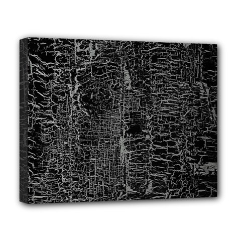 Old Black Background Deluxe Canvas 20  X 16   by Nexatart