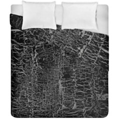 Old Black Background Duvet Cover Double Side (california King Size) by Nexatart