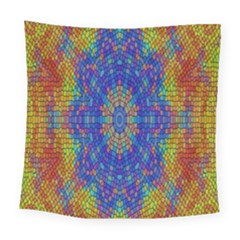 A Creative Colorful Backgroun Square Tapestry (large)