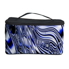 Aliens Music Notes Background Wallpaper Cosmetic Storage Case by Nexatart