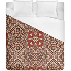 Seamless Pattern Based On Turkish Carpet Pattern Duvet Cover (california King Size) by Nexatart