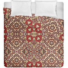 Seamless Pattern Based On Turkish Carpet Pattern Duvet Cover Double Side (king Size) by Nexatart