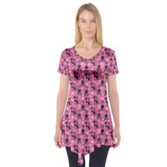 Cute Cats I Short Sleeve Tunic