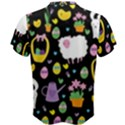 Cute Easter pattern Men s Cotton Tee View2