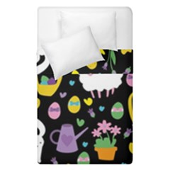 Cute Easter Pattern Duvet Cover Double Side (single Size) by Valentinaart