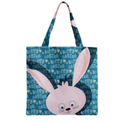 Easter Bunny  Zipper Grocery Tote Bag by Valentinaart