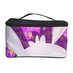 Easter Bunny  Cosmetic Storage Case by Valentinaart